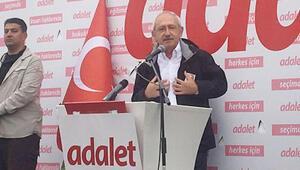 Kılıçdaroğlu yürüyüşe ara verdi, parti grubuna seslendi: Anayasa Mahkemesi sınıfta kaldı