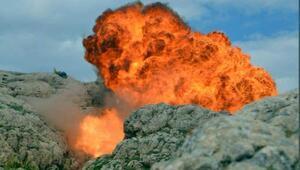 Herekol Dağında PKKnın kullandığı 38 mağara bulundu