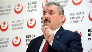 BBP Genel Başkanı Mustafa Destici: Kadir Gecesi tüm evreni kuşatan bir bağışlama ve af gecesidir