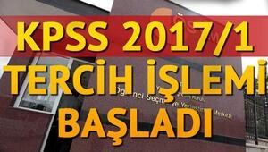 2017 ÖSYM KPSS tercihleri nasıl yapılacak KPSS tercih robotu nasıl kullanılır