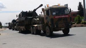 Kilisin Suriye sınırına 5 tank sevkiyatı
