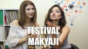 Festival festival gezerken makyajı akmayan kız makyajı   Makyaj Sırları