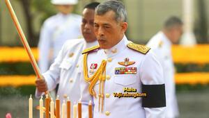 Tayland Kralı'na plastik mermi atmışlar