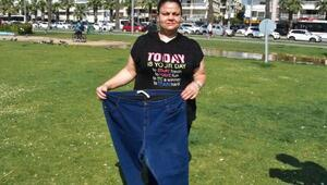 Ameliyat sonrası 6 ayda 33 kilo zayıfladı