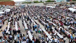Yahşihanda 10 bin kişiye iftar yemeği