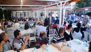 Başkan Palancıoğlu, belediye personeliyle iftarda buluştu
