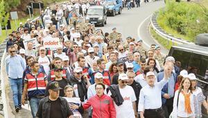 Adalet Yürüyüşü'nden notlar... 'Bekle bizi İstanbul'