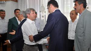 Bitlis Valisi Çınar hem bayramlaştı, hem vedalaştı