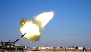 Son dakika... Türkiye Afrinde terör örgütü YPGyi bombaladı