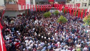 Şehit Jandarma Onbaşı Sinan Hamzanın cenazesi Trabzon'da (2)