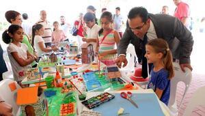 Yaz Bilim Kampında sertifika heyecanı