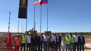 Türk şirket Rusyada temel attı