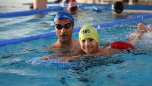 Başakşehir Belediyesi yüzme havuzlarını yaza hazırladı