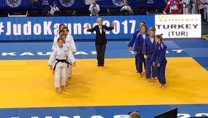 Judoda Ümit Milli Takım, Avrupa Şampiyonasını 2 altın, 2 bronz madalya ile tamamladı