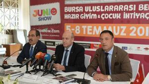 Junioshow Fuarı için 43 ülkeden alım heyeti Bursa'ya geliyor
