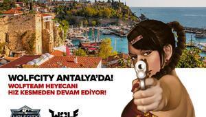 Wolfcity turnuvası Antalya'da