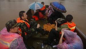 Çinde sel 56 can aldı