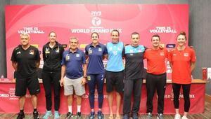 2017 FIVB World Grand Prix Basın Toplantısı Ankarada yapıldı