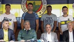 Fenerbahçede imza şov 4 isim birden...