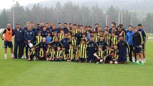 Fenerbahçe eksiksiz çalıştı