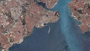 İstanbulu yukarıdan görüntüledi
