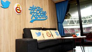 Twitter'ın Blue Room'u ilk kez Türk Telekom Stadyumu'nda kuruldu