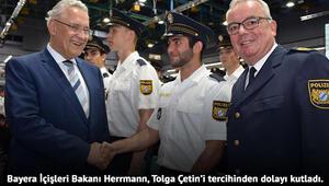 Bavyera'da polis adayları yemin etti