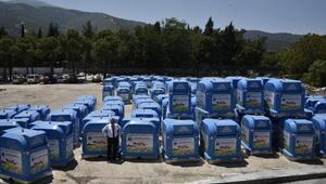 Yunusemreye yeni 140 çöp konteyneri