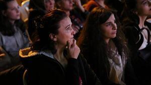 Eskişehirde sokak sineması etkinliği