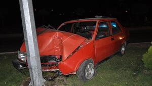 Yozgatta kaza: 2 yaralı