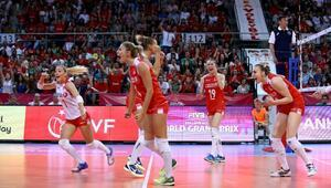 A Milli Bayan Voleybol Takımı, Brezilyaya mağlup oldu