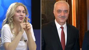 Başkandan Aleyna Tilki için gülümseten yorum