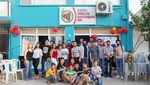 Uyuşturucuya karşı Gençlik Dayanışma Evi kurdular