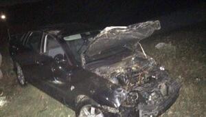 İlçe savcısı kazada yaralandı