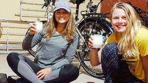 Bisikletle dünya turunda Kastamonuda mola verdiler