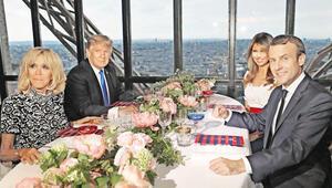 Trump için Eyfel Kulesini kapattı