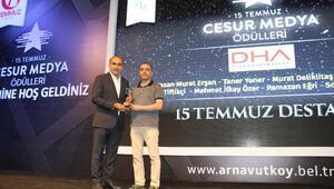 15 Temmuz darbe girişiminin cesur gazetecileri ödüllendirildi