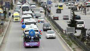 Vanda 15-16 Temmuzda otobüsler ücretsiz