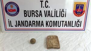 Bursada tarihi eser operasyonu: 2 gözaltı