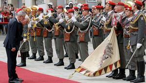 Almanya Cumhurbaşkanı Steinmeier Avusturya'da