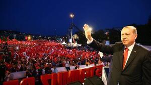 Cumhurbaşkanı Erdoğan 15 Temmuz Şehitler Köprüsünde konuştu: FETÖcülerin şu an daha iyi günleri