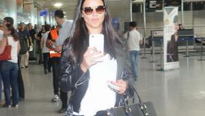 Adriana Lima ABD'ye yalnız gitti