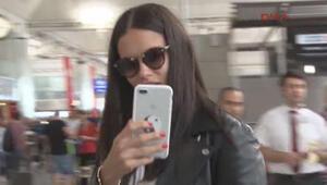 Adriana Lima ABDye yalnız gitti