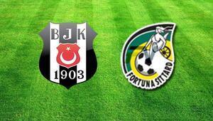 Beşiktaş Fortuna Sittard hazırlık maçı bu akşam saat kaçta hangi kanalda canlı olarak yayınlanacak