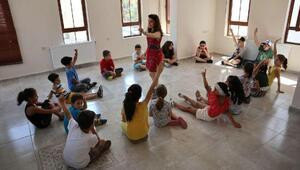 Odunpazarından çocuklara yaratıcı drama dersleri