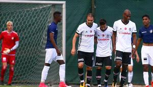 Beşiktaştan gollü prova