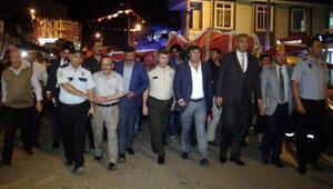 Pınarbaşında 15 Temmuz nöbeti
