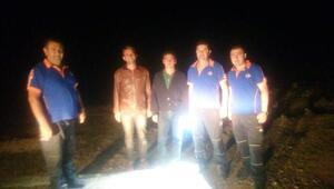 Bolkar Dağında kaybolan 2 kişi bulundu