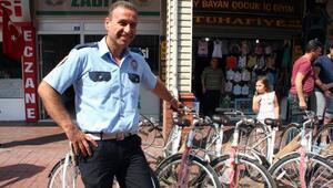 Çaycumada belediyeden 43 polise bisiklet