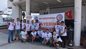 İzmirdeki grevde 7nci günde sözleşmeden ses yok
